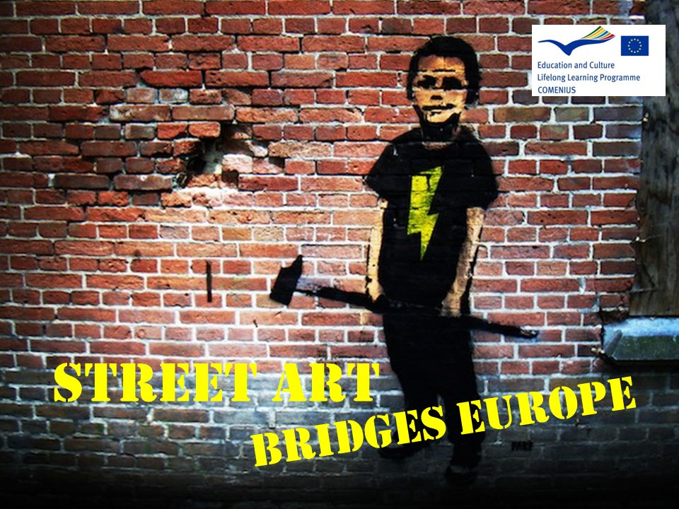 STREET ART Bridges europe