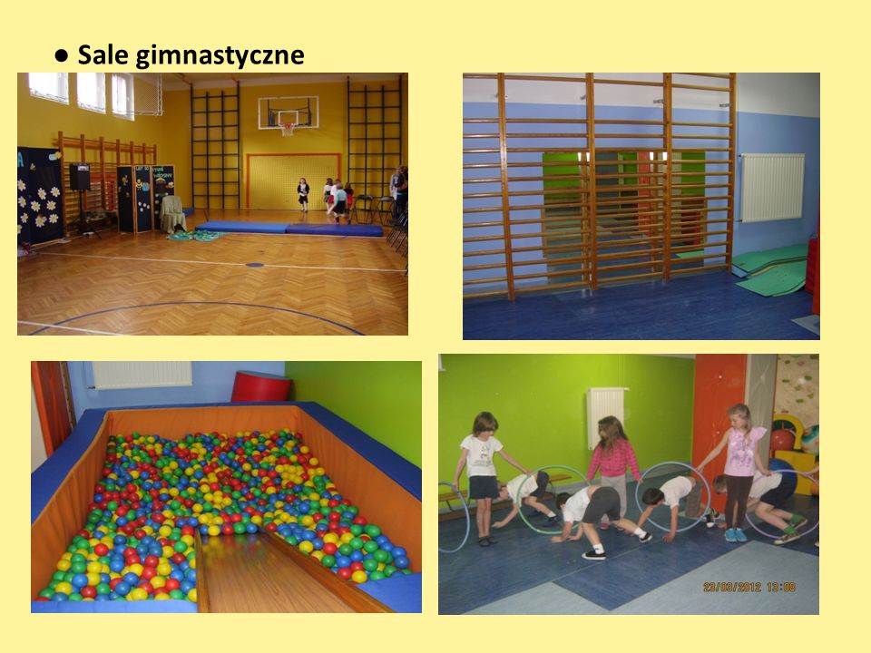 ● Sale gimnastyczne