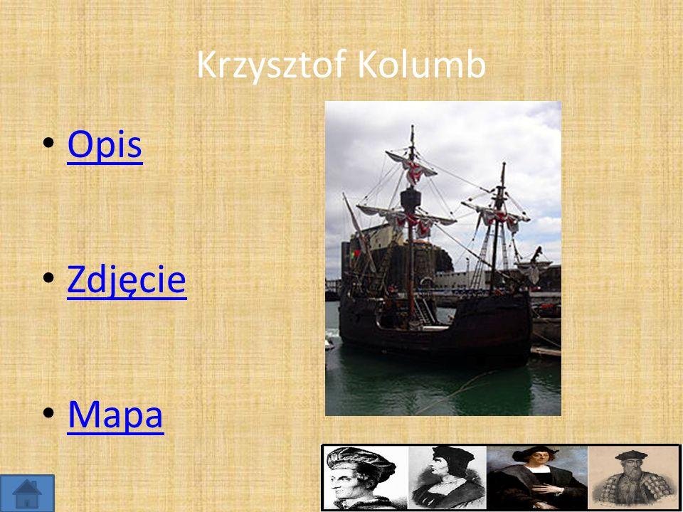 Krzysztof Kolumb Opis Zdjęcie Mapa