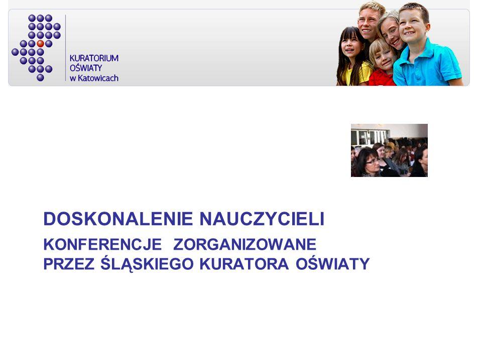 Konferencje zorganizowane przez śląskiego kuratora oświaty