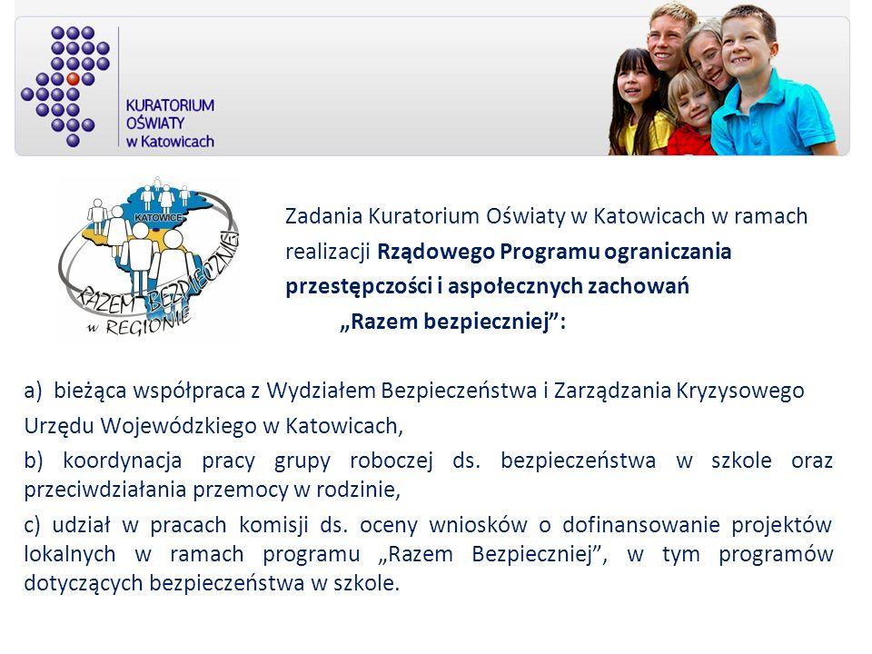 Zadania Kuratorium Oświaty w Katowicach w ramach