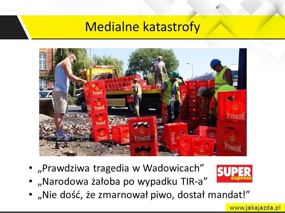 """Medialne katastrofy """"Prawdziwa tragedia w Wadowicach"""