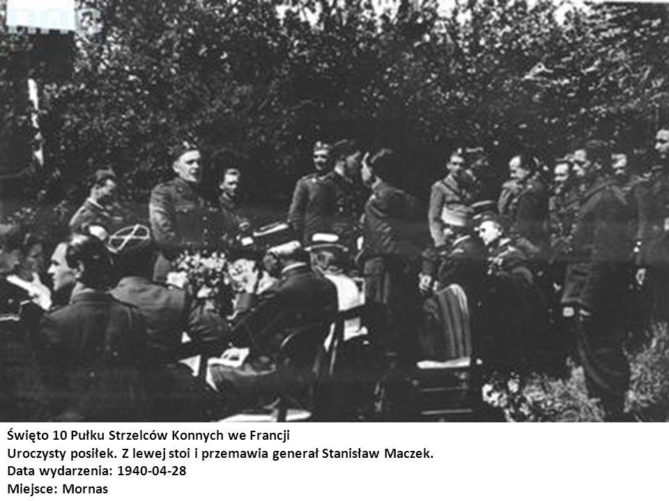 Święto 10 Pułku Strzelców Konnych we Francji
