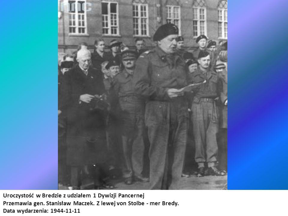 Uroczystość w Bredzie z udziałem 1 Dywizji Pancernej