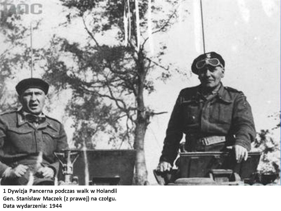 1 Dywizja Pancerna podczas walk w Holandii
