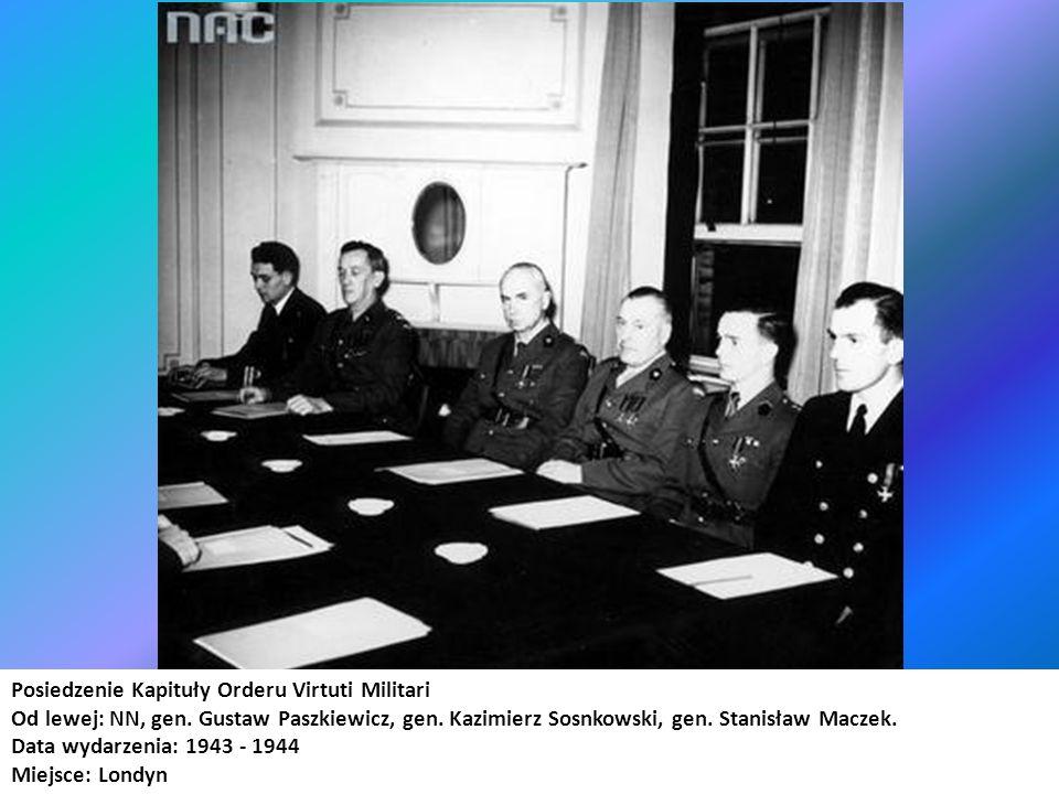 Posiedzenie Kapituły Orderu Virtuti Militari