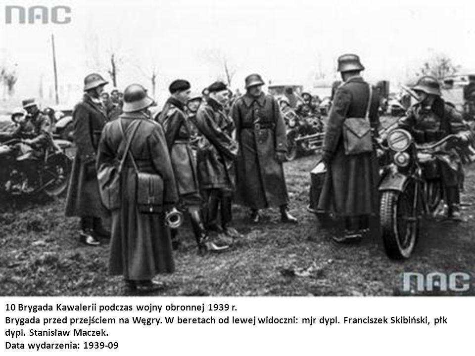 10 Brygada Kawalerii podczas wojny obronnej 1939 r.