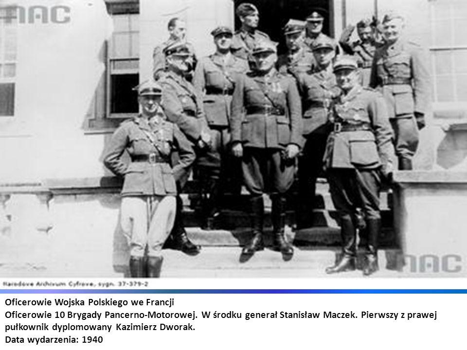 Oficerowie Wojska Polskiego we Francji