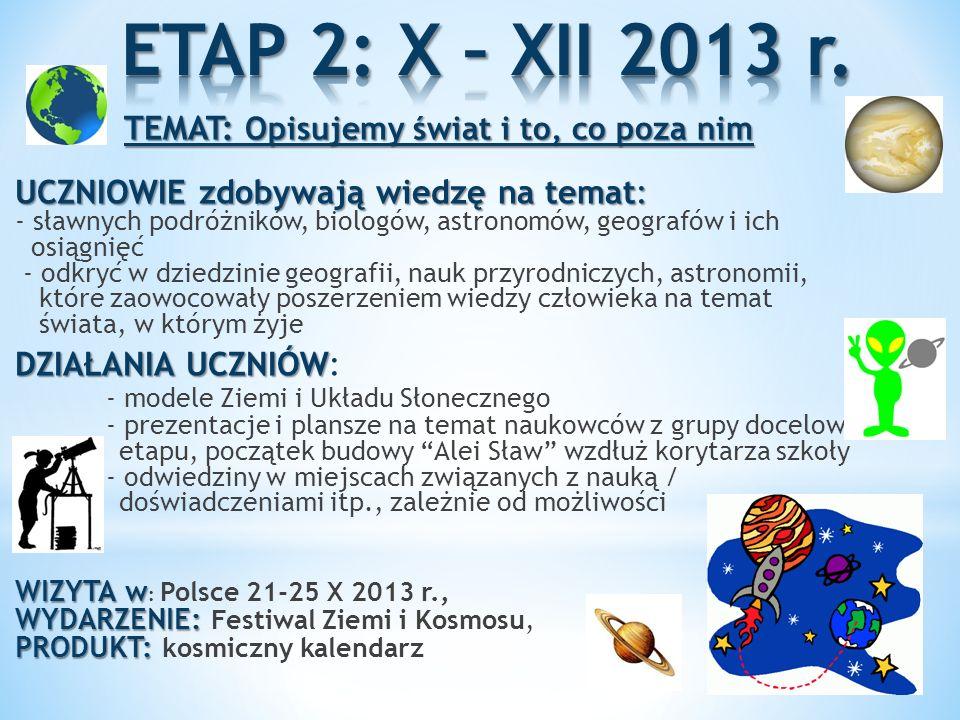 ETAP 2: X – XII 2013 r.