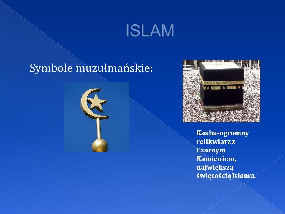 ISLAM Symbole muzułmańskie: