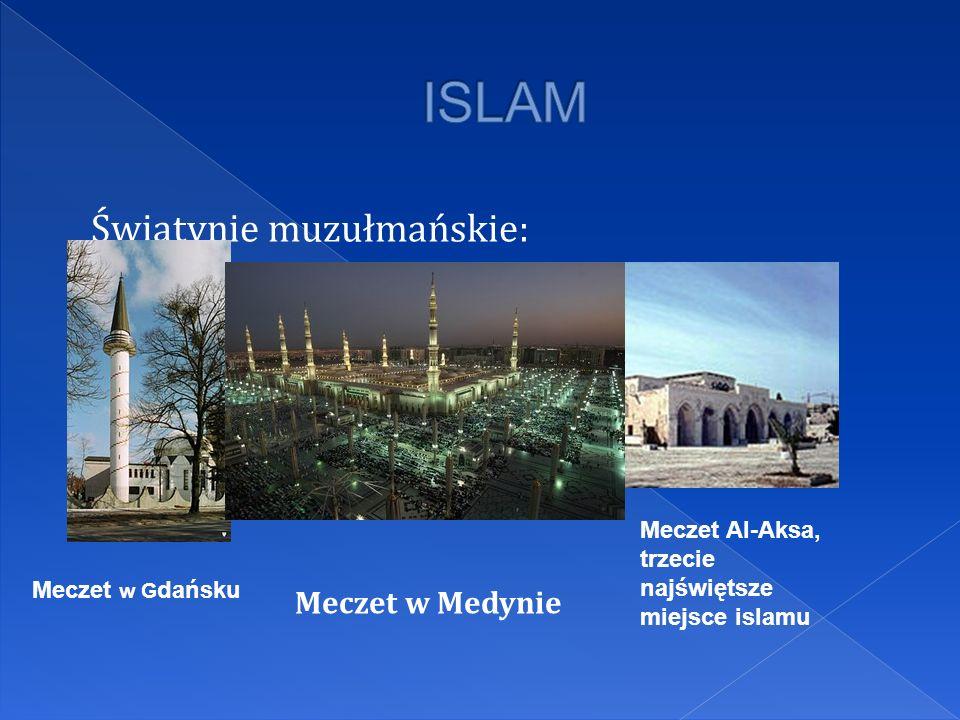 ISLAM Świątynie muzułmańskie: Meczet w Medynie