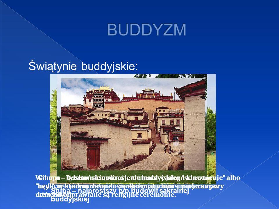 BUDDYZM Świątynie buddyjskie: