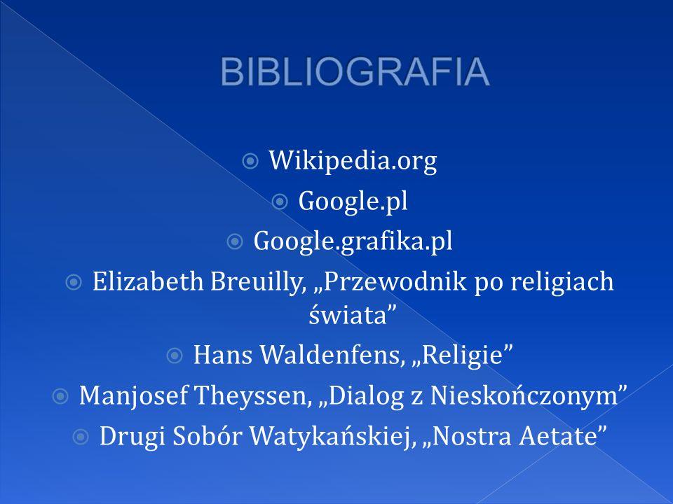 BIBLIOGRAFIA Wikipedia.org Google.pl Google.grafika.pl