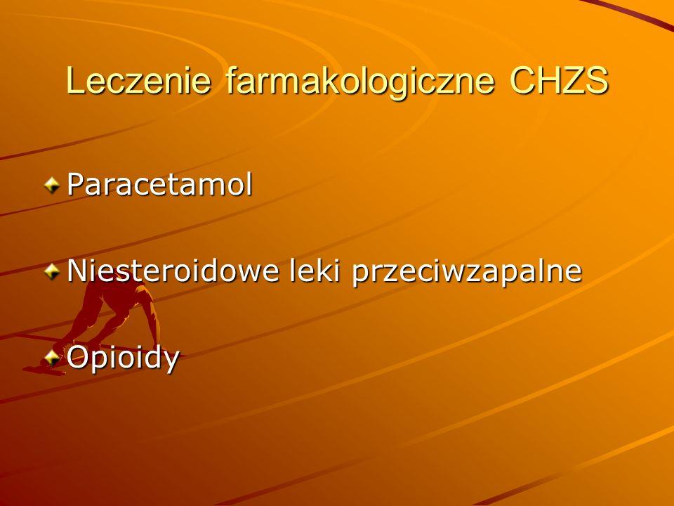Leczenie farmakologiczne CHZS
