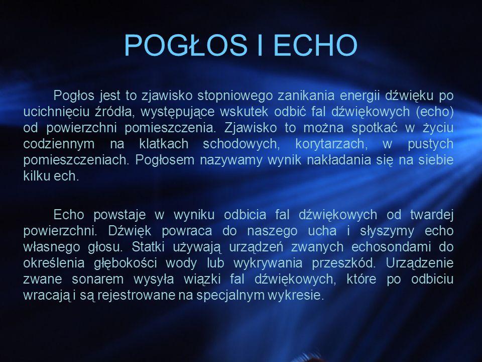 POGŁOS I ECHO