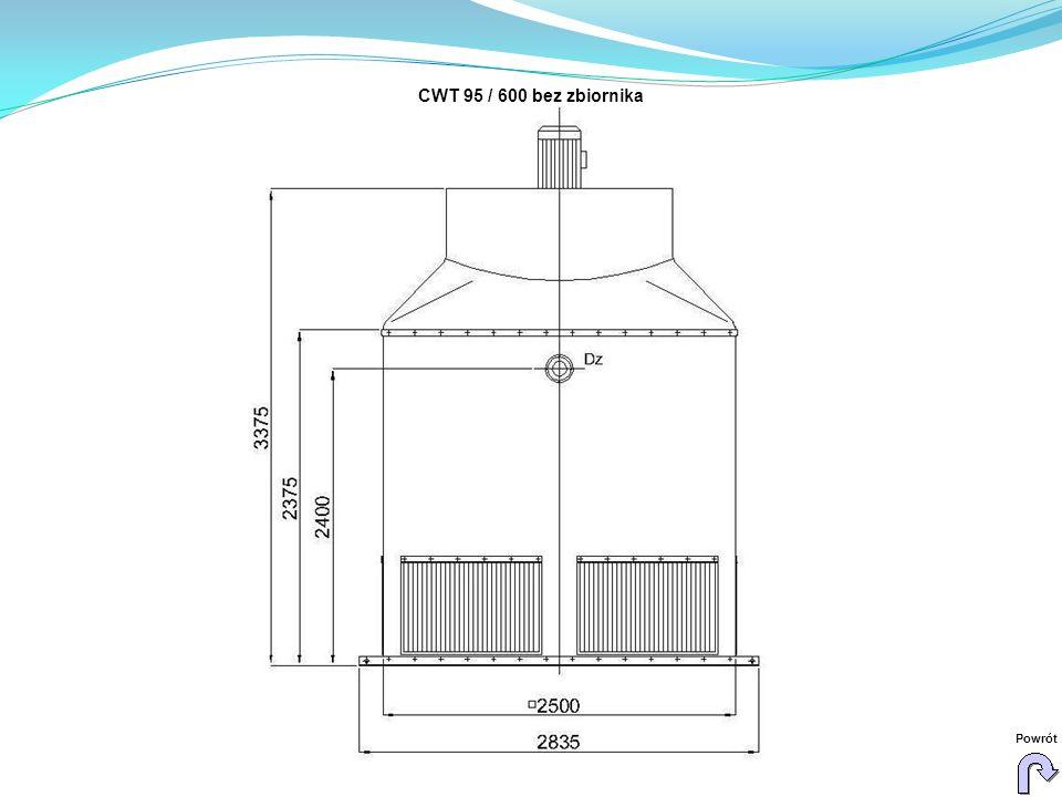 CWT 95 / 600 bez zbiornika Powrót