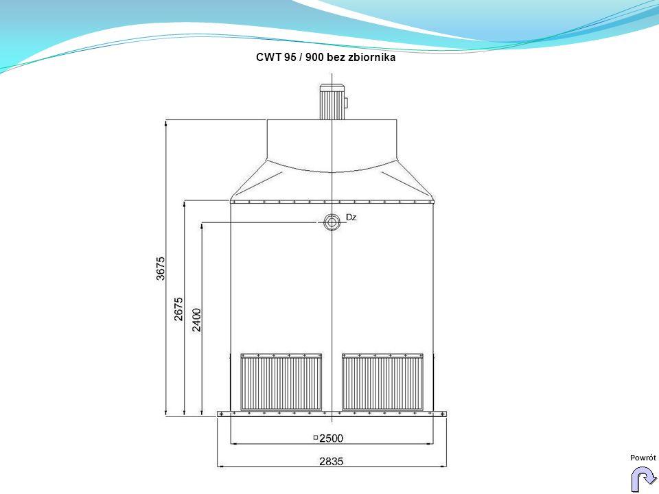 CWT 95 / 900 bez zbiornika Powrót