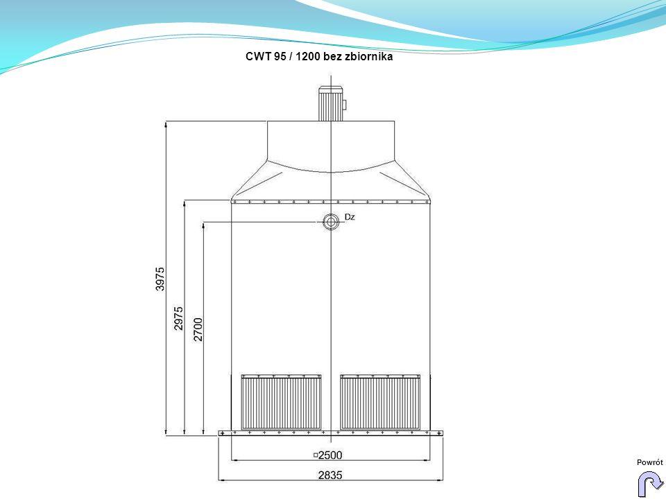 CWT 95 / 1200 bez zbiornika Powrót