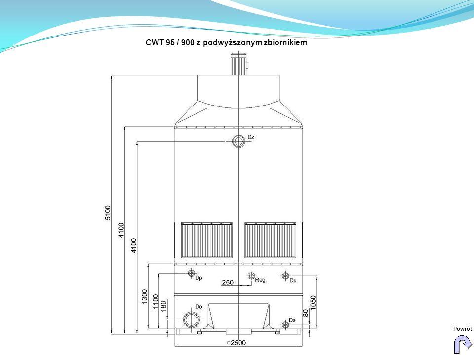 CWT 95 / 900 z podwyższonym zbiornikiem