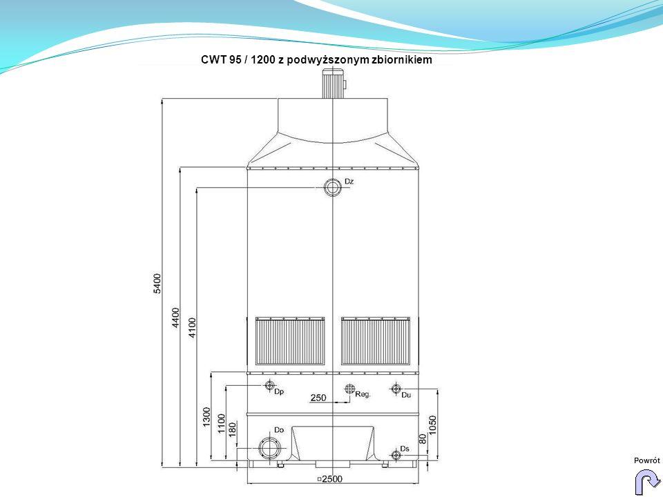 CWT 95 / 1200 z podwyższonym zbiornikiem