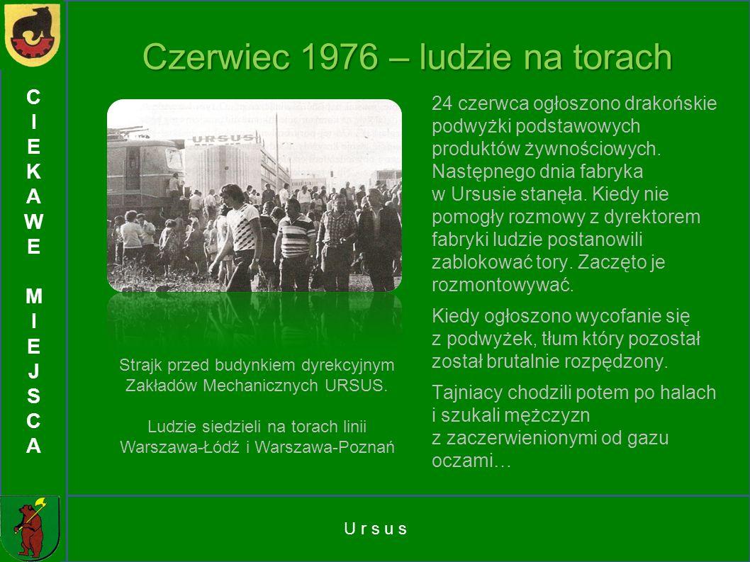 Czerwiec 1976 – ludzie na torach