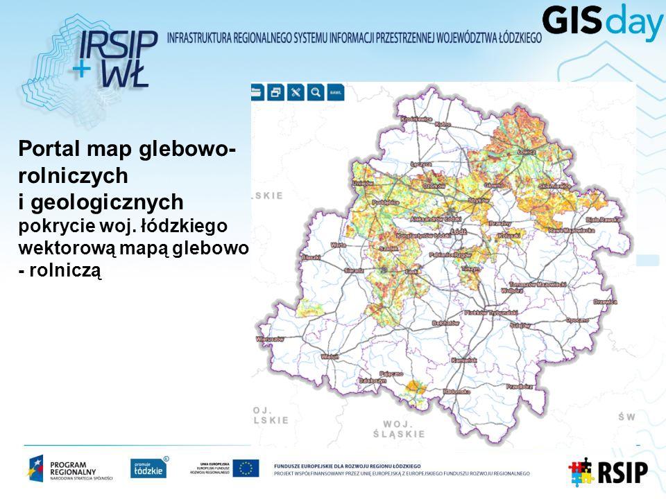 Portal map glebowo-rolniczych i geologicznych