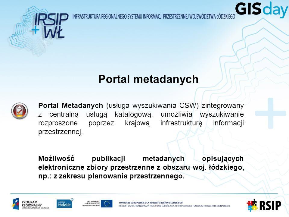 Portal metadanych