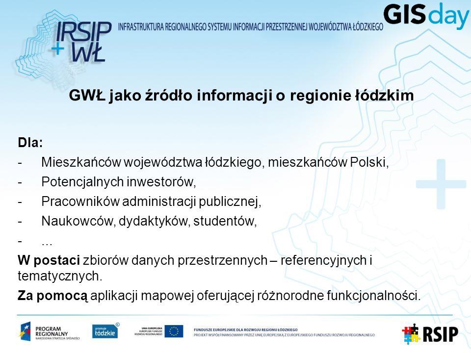 GWŁ jako źródło informacji o regionie łódzkim