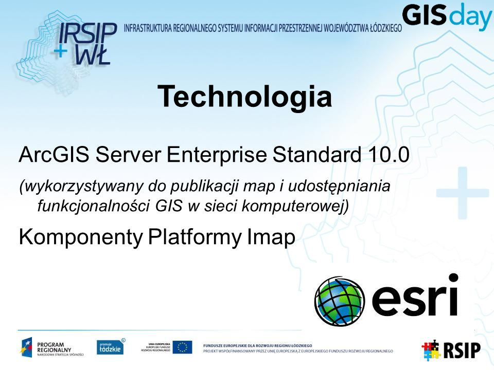Technologia ArcGIS Server Enterprise Standard 10.0