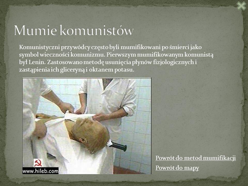 Mumie komunistów