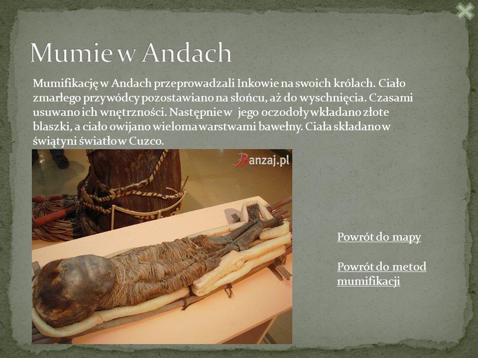 Mumie w Andach