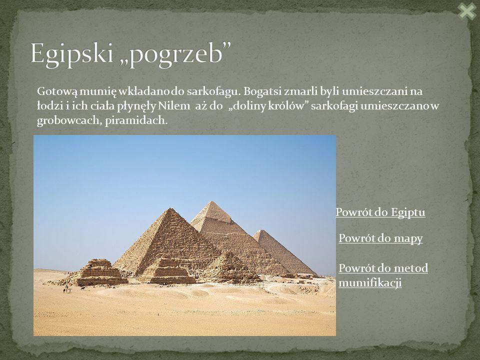 """Egipski """"pogrzeb"""