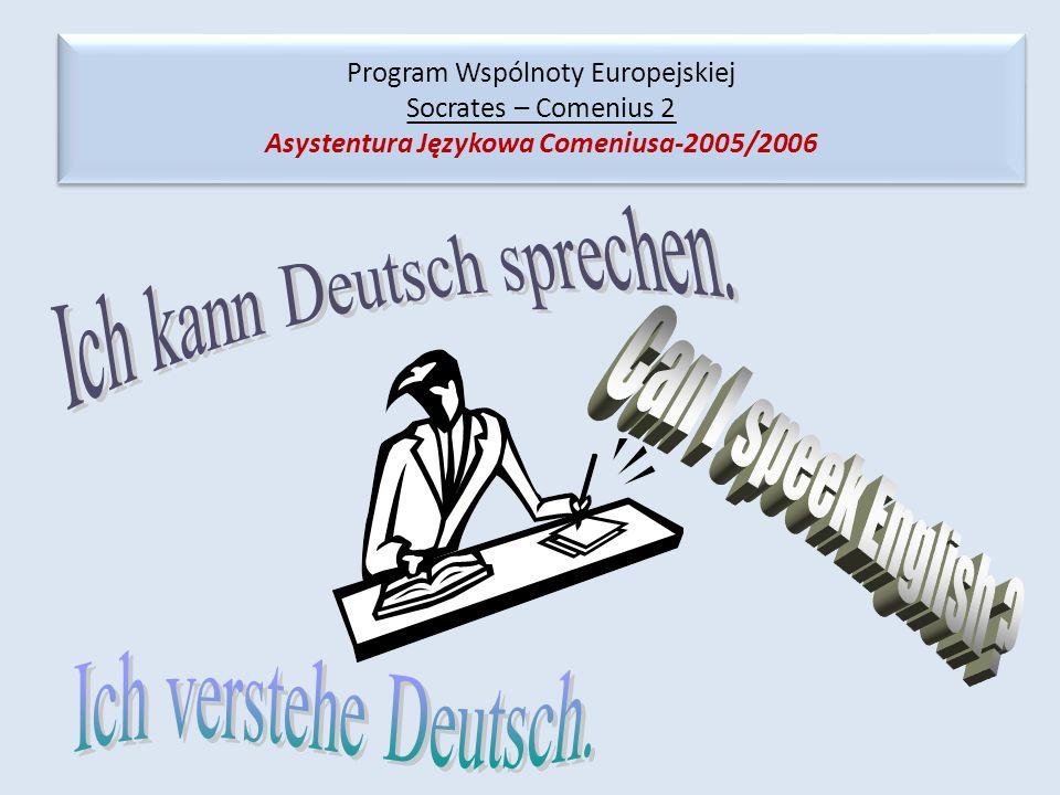 Ich kann Deutsch sprechen.