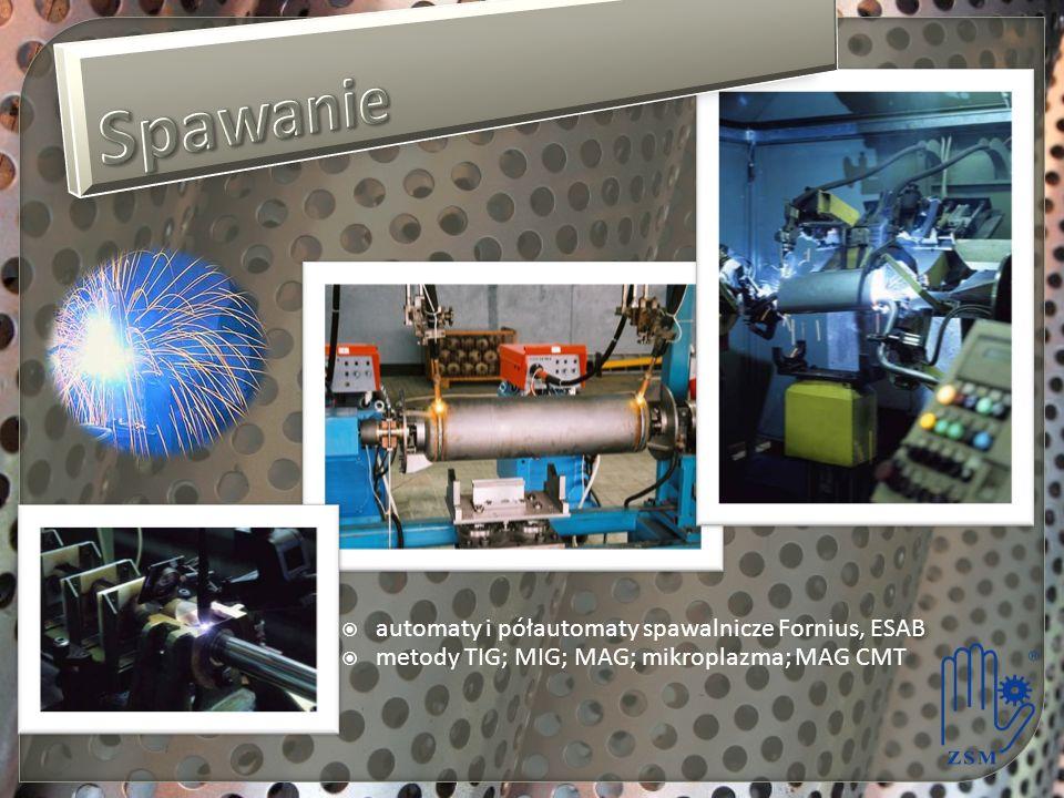 Spawanie automaty i półautomaty spawalnicze Fornius, ESAB