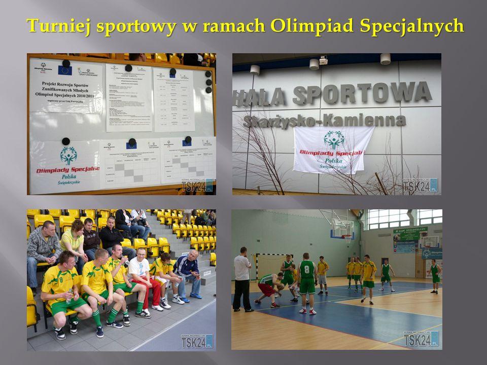 Turniej sportowy w ramach Olimpiad Specjalnych