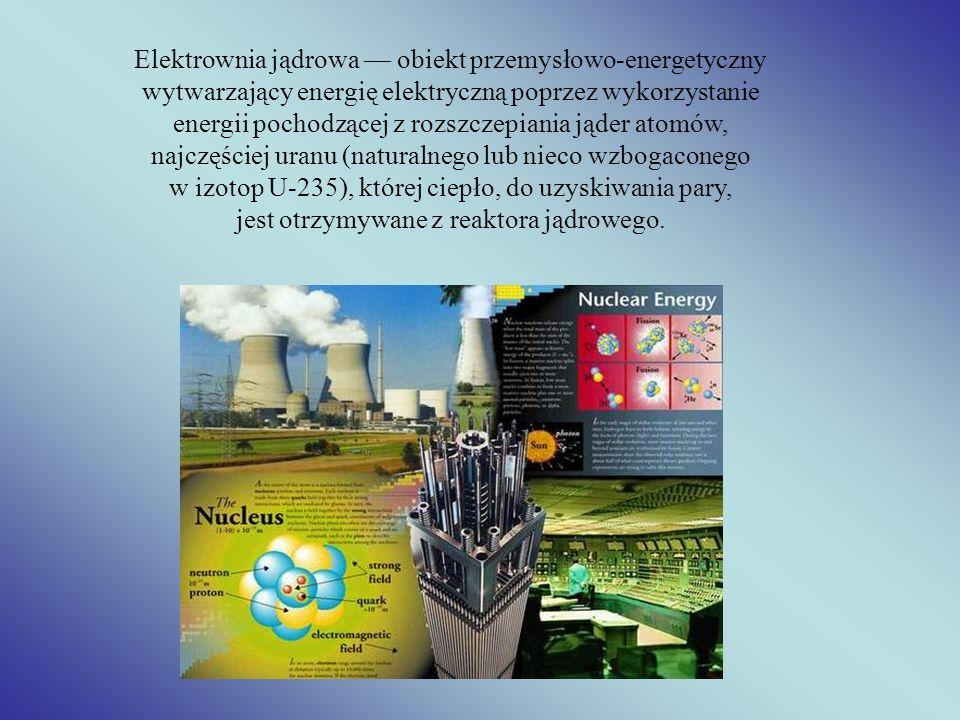 Elektrownia jądrowa — obiekt przemysłowo-energetyczny