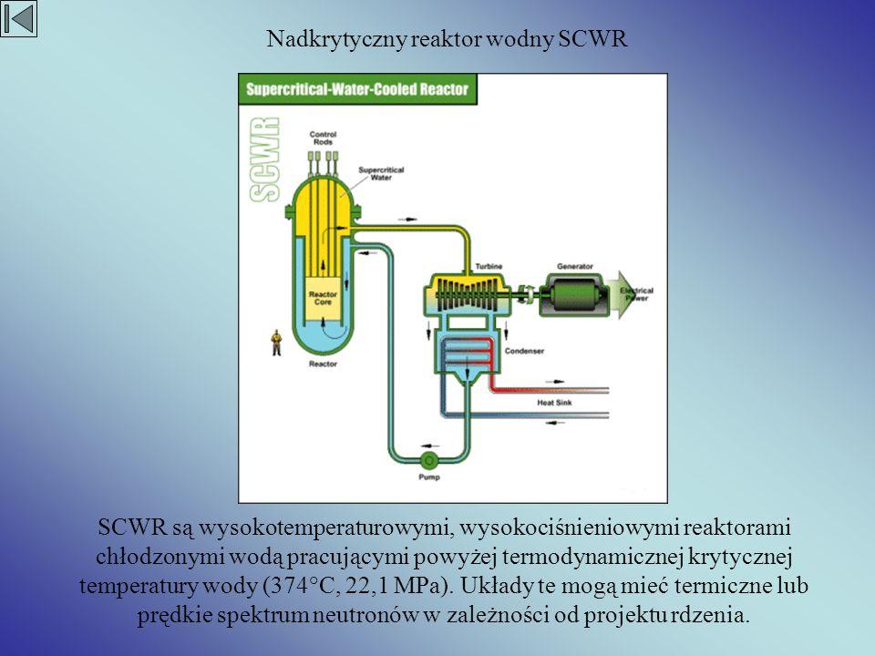 Nadkrytyczny reaktor wodny SCWR