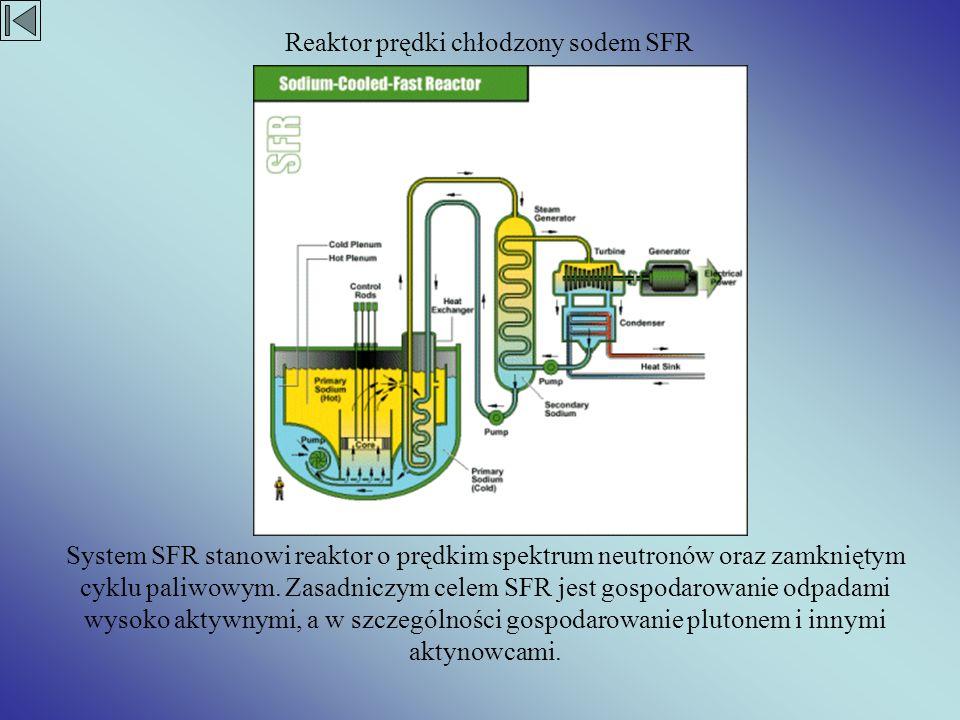Reaktor prędki chłodzony sodem SFR