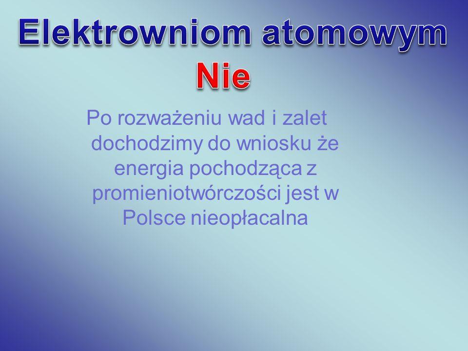 Elektrowniom atomowym