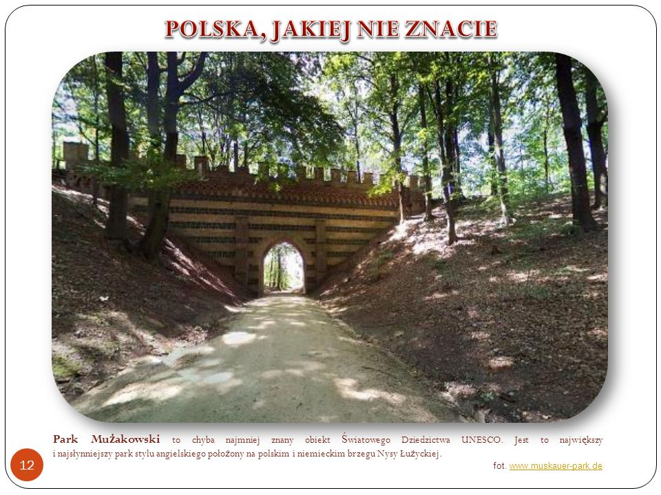 POLSKA, JAKIEJ NIE ZNACIE