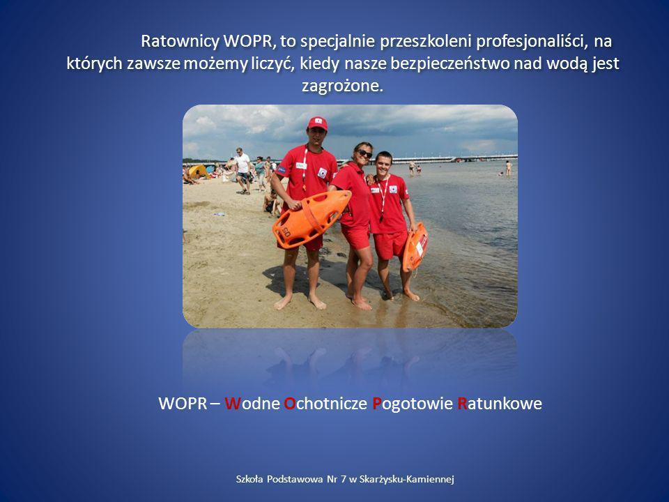 WOPR – Wodne Ochotnicze Pogotowie Ratunkowe