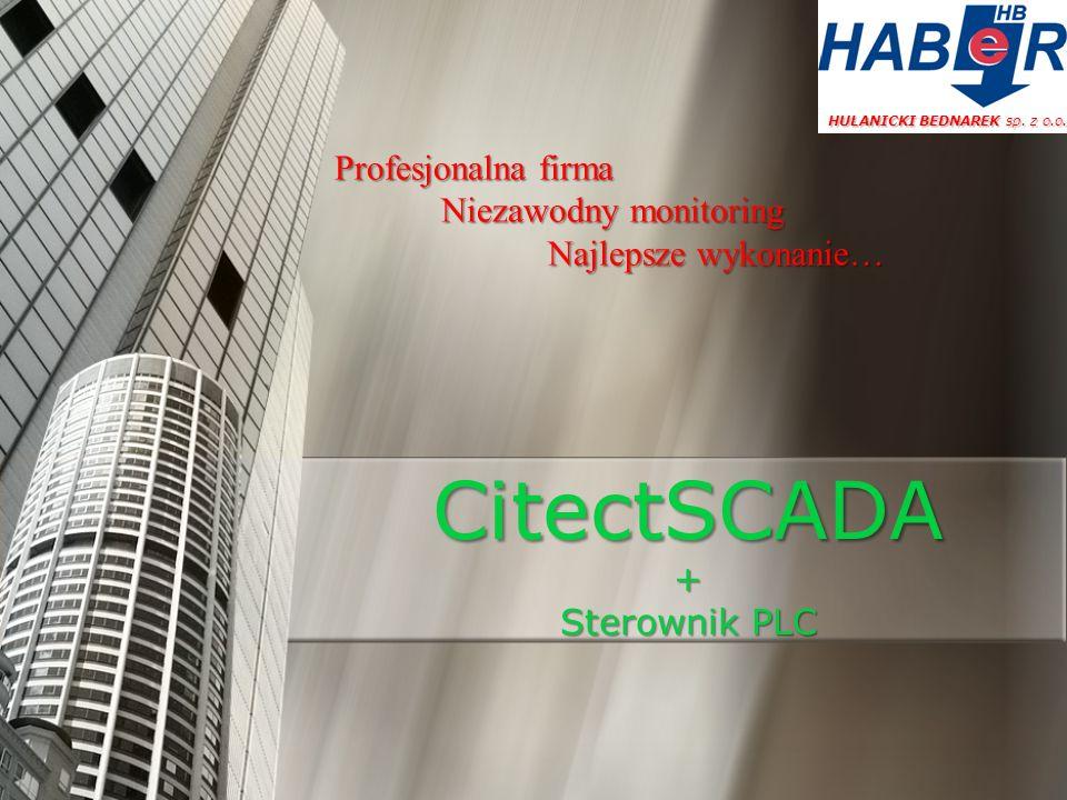 CitectSCADA + Sterownik PLC
