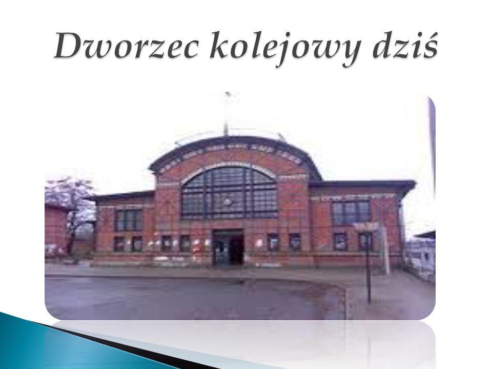 Dworzec kolejowy dziś