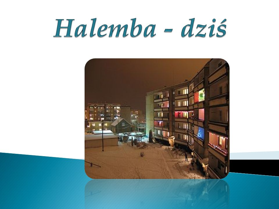 Halemba - dziś