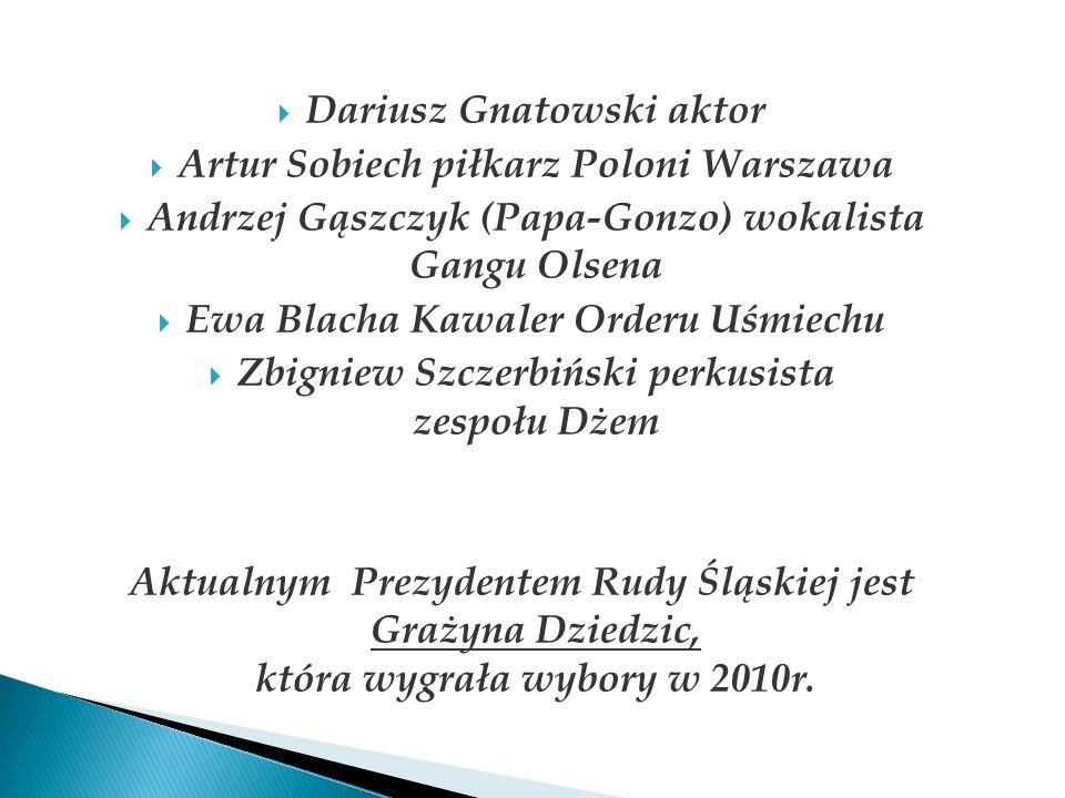 Dariusz Gnatowski aktor Artur Sobiech piłkarz Poloni Warszawa