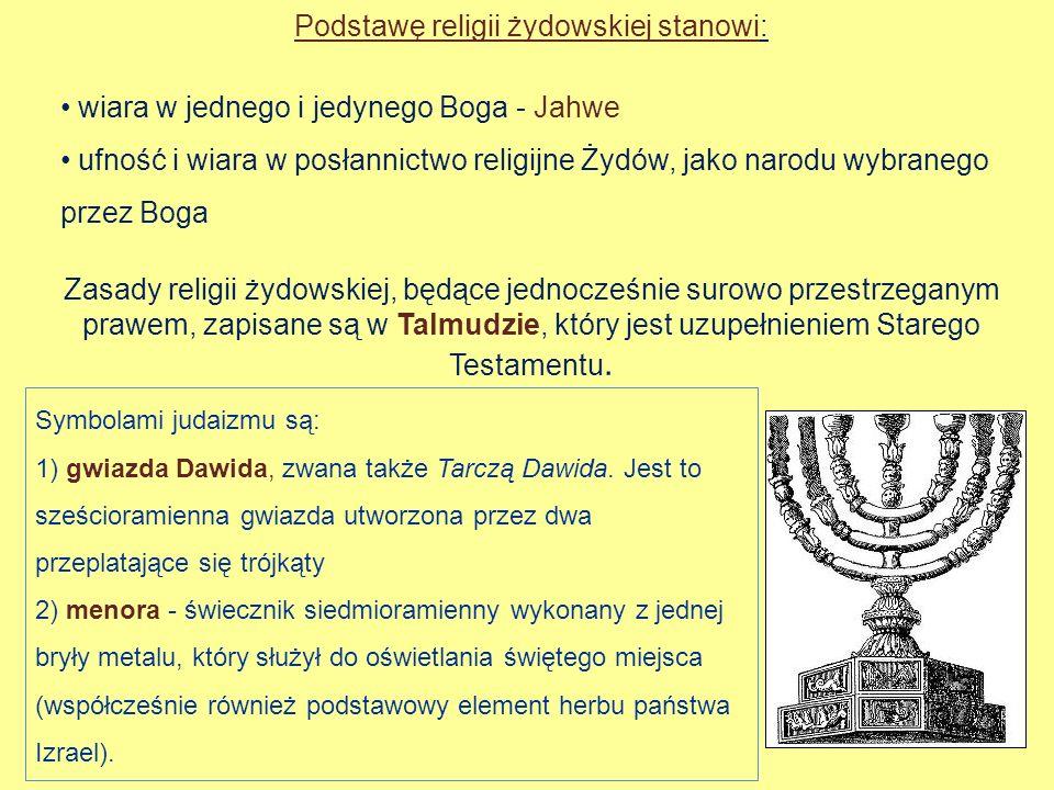 Podstawę religii żydowskiej stanowi: