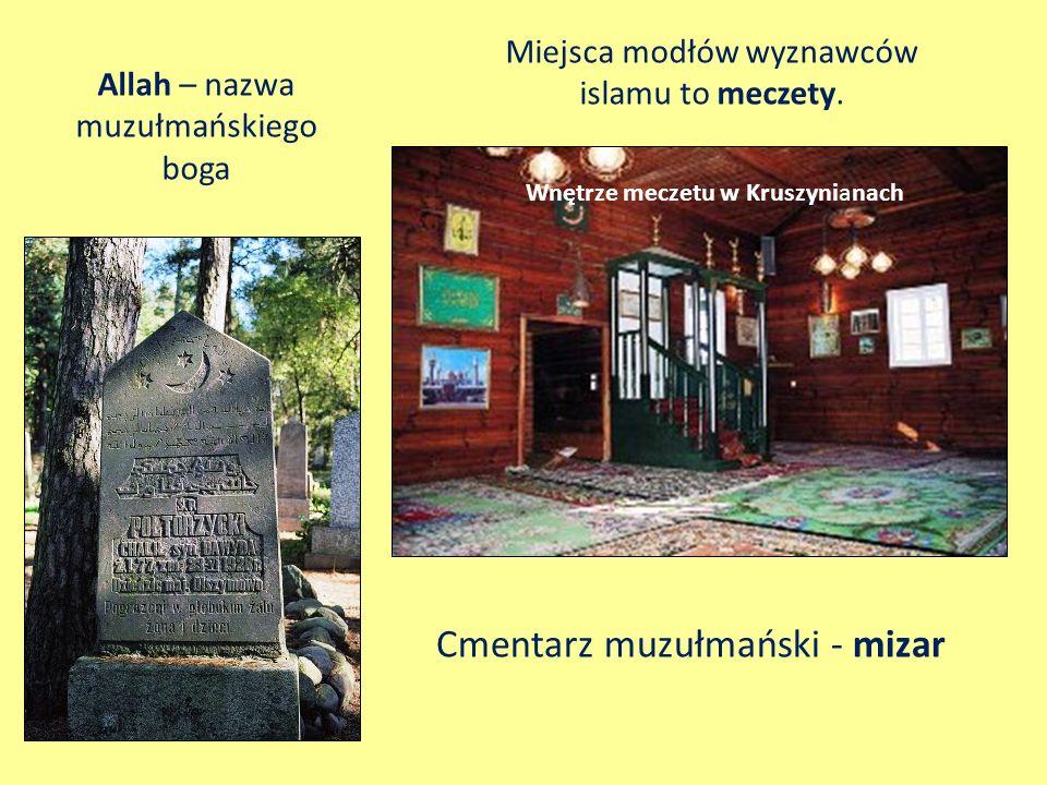 Cmentarz muzułmański - mizar