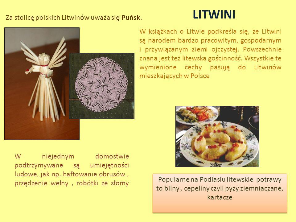 Za stolicę polskich Litwinów uważa się Puńsk.