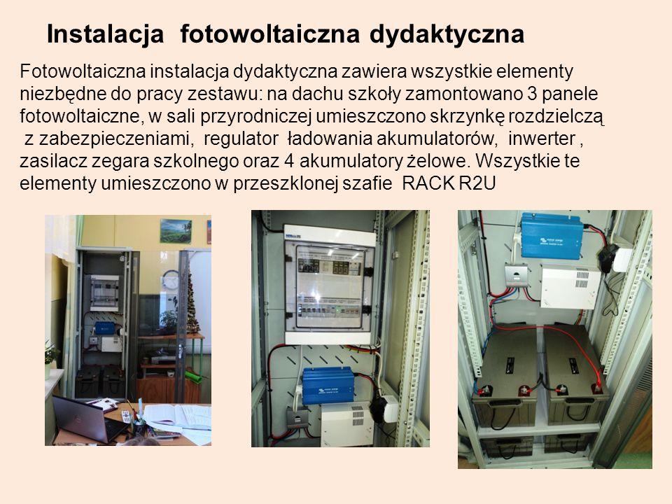 Instalacja fotowoltaiczna dydaktyczna