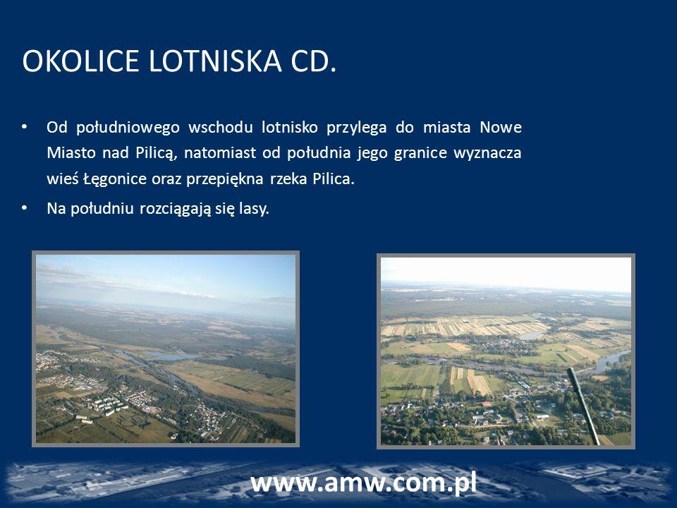 OKOLICE LOTNISKA CD. www.amw.com.pl www.amw.com.pl
